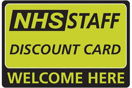10% Discount for all NHS Staff