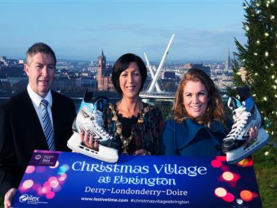 christmas village ebrington